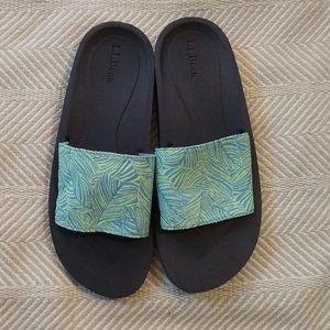 NWOT L.L. Bean Slide-On Sandals Size 10